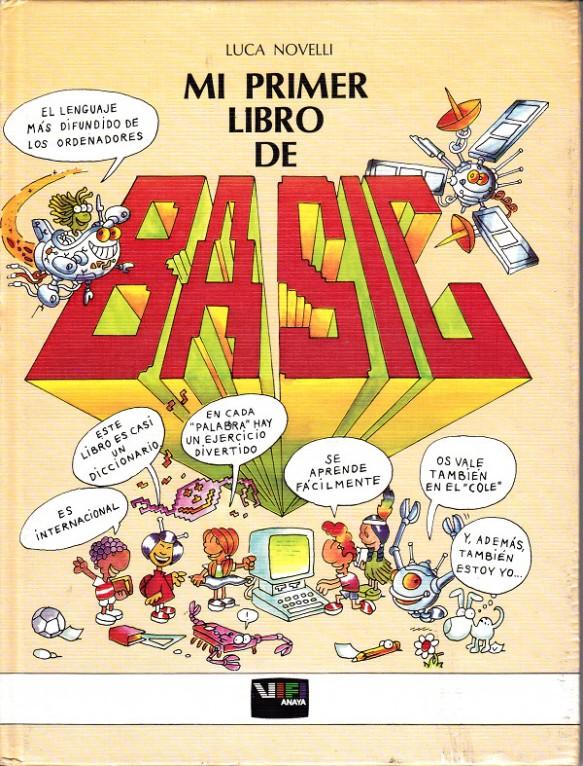 """Portada """"Mi Primer Libro de Basic"""""""