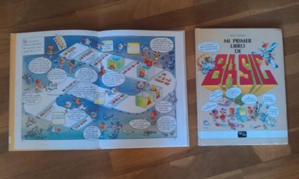 """Dos ejemplares del libro """"Mi Primer Libro de Basic"""""""